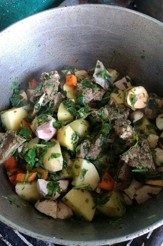 legumes haitien recette