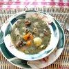Bouillon boeuf légumes haïtien