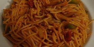 Spaghetti haitien végétarien