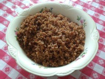 Assiette blé haitien