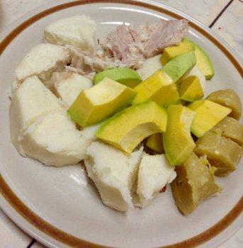 Viv bouyi mazumbel pomdeterre bannann pwason